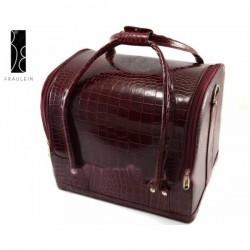 Geanta Make-Up Beauty Case - Burgundy