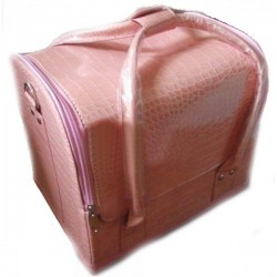 Geanta Light Pink Make-Up Beauty Case -